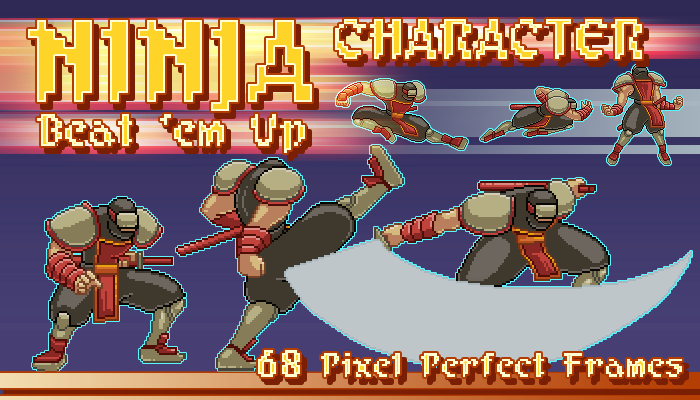 Ninja – Beat 'em Up Moveset