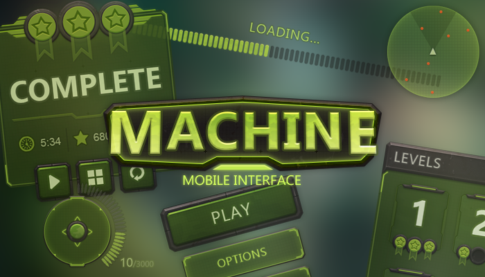 Machine Mobile UI