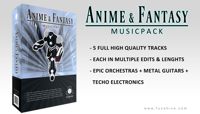 ANIME AND FANTASY – Orchestral Metal MusicPack