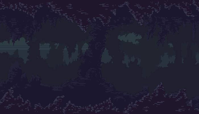 Pixel Cave Parallax BG