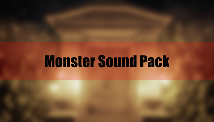 Monster Sound Pack