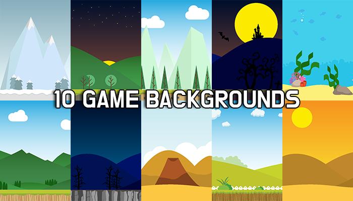 2D BG 10 Backgrounds