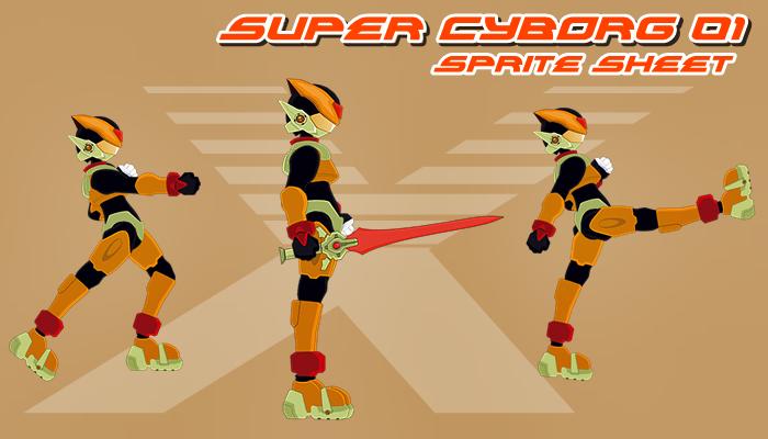 super cyborg 01