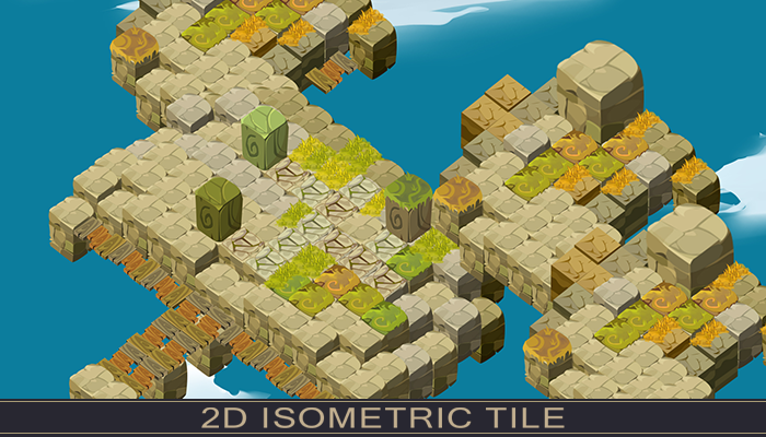 Isometric 2D Tile