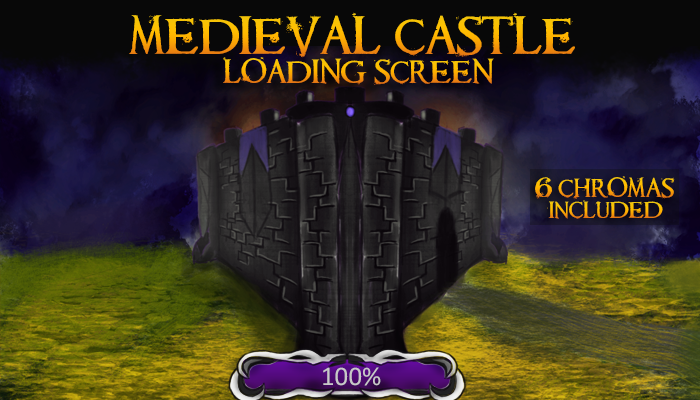 Medieval Castle Loading Screen