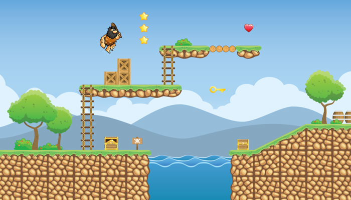 Tropical Island 2D Game Tileset