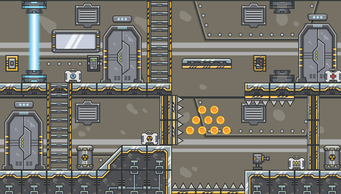 Spaceship Tileset