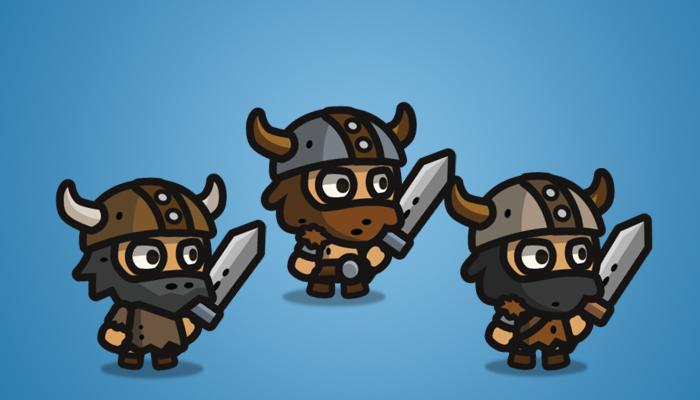 Tiny Viking – Tiny Style Character