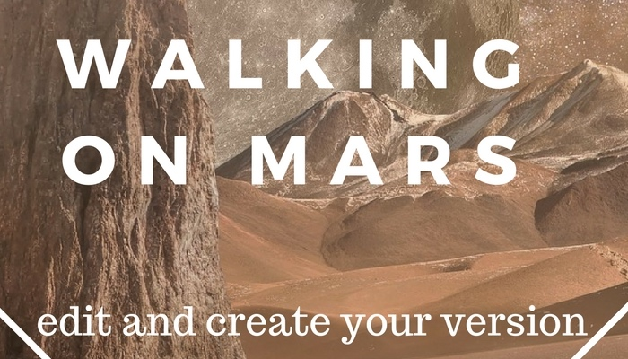 Walking on Mars – muti track music theme
