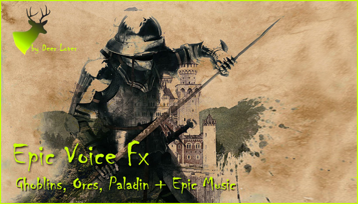 Epic Voice and Music Pack