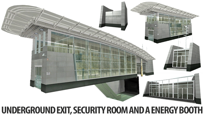 Underground Exit Building