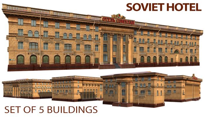 Soviet Hotel Buildings