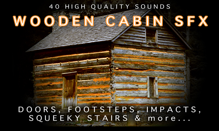 Wooden House / Cabin SFX