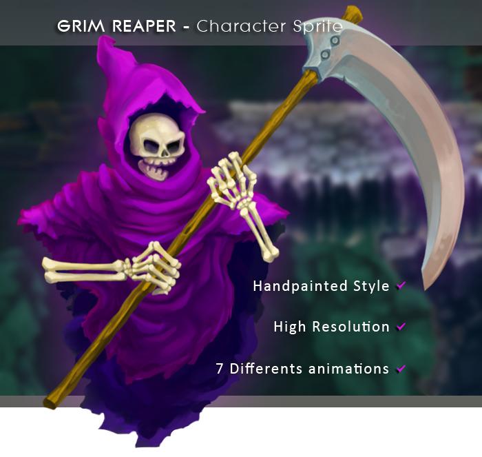 GRIM REAPER – Character Sprite