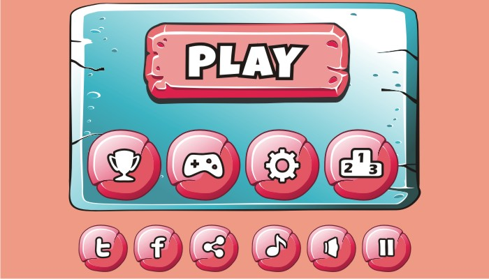 cartoon game gui pack 25