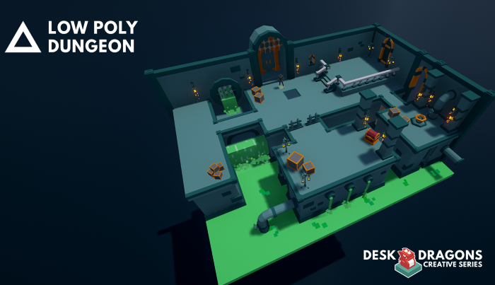 Low-Poly Dungeon Pack 1