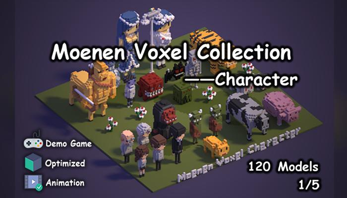 Moenen Voxel Collection 1 Character