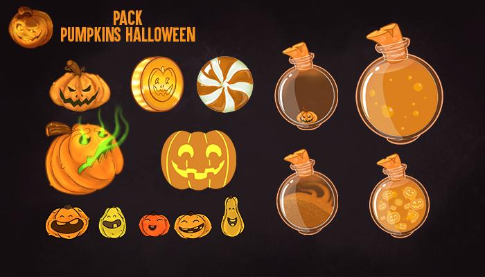 Pack Pumpkins Halloween