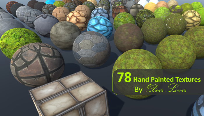 78 Hand Painted Textures