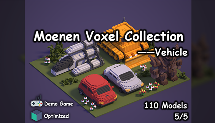 Moenen Voxel Collection 5 Vehicle
