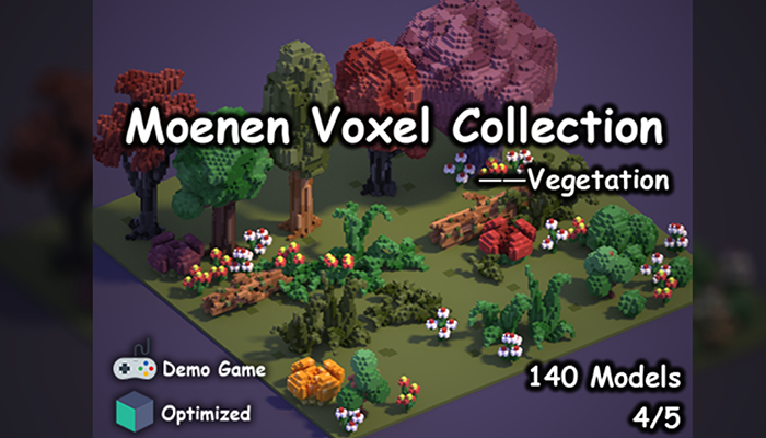 Moenen Voxel Collection 4 Vegetation
