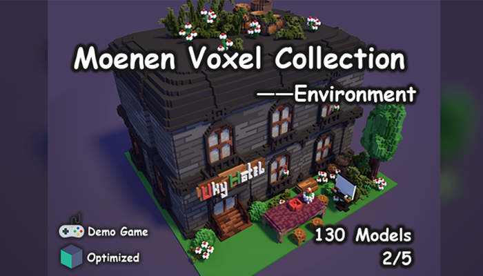 Moenen Voxel Collection 2 Environment