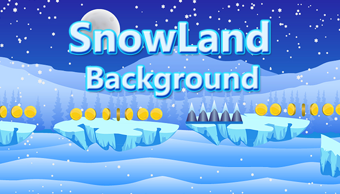 SnowLand Background