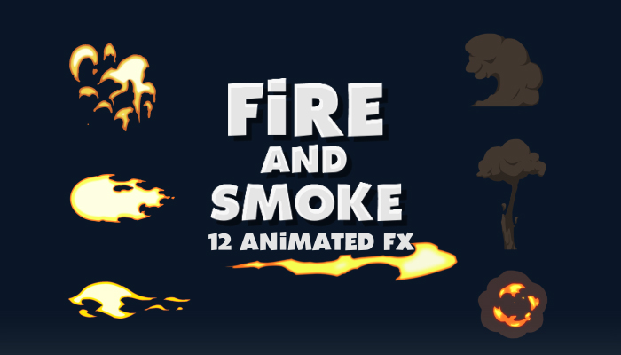 Fire and Smoke Animated Fx
