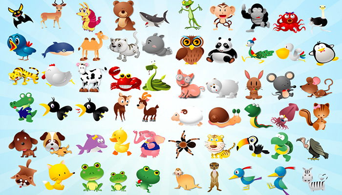 Animated Toon Animals
