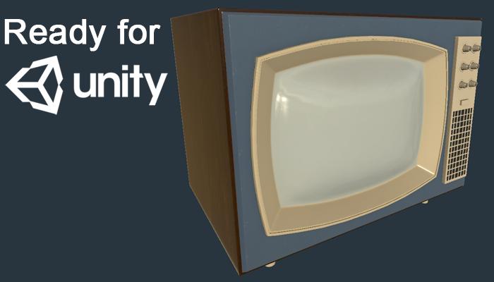 Vintage 50s TV