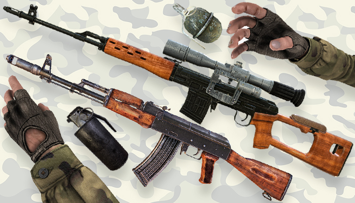 Russian Weapon FPS Pack