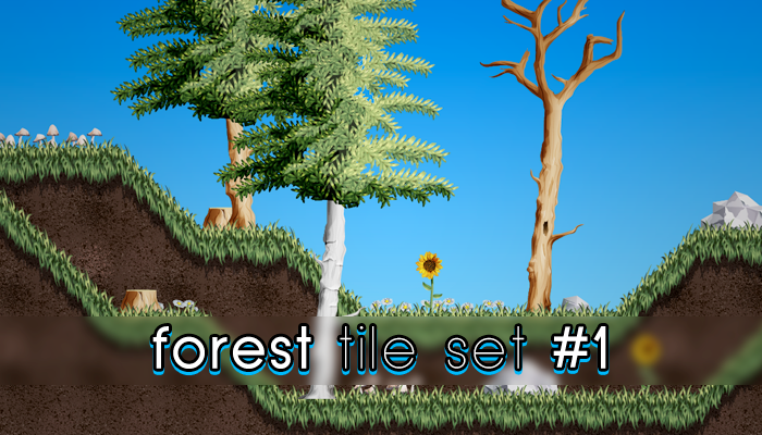 Forest Tile Set 1