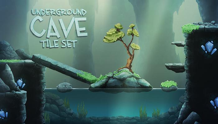 Underground Cave Tile Set