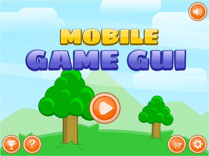 Mobile Game Gui