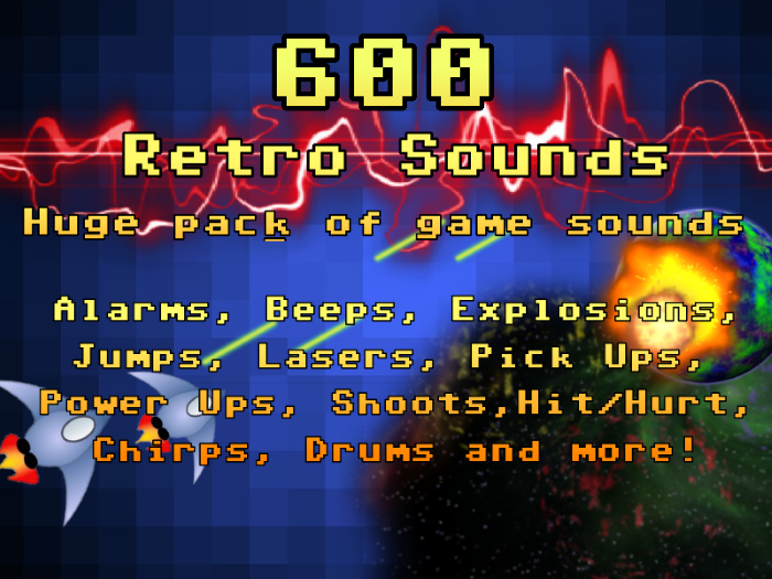 600 Retro Sounds!