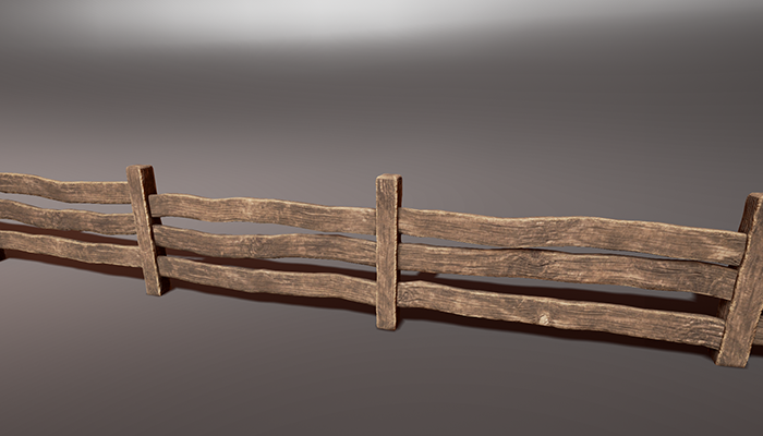 Wooden Fence Pack