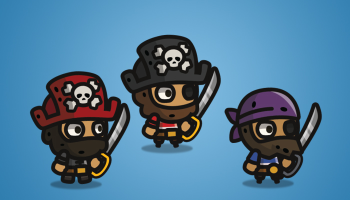 Tiny Style Character Pirate