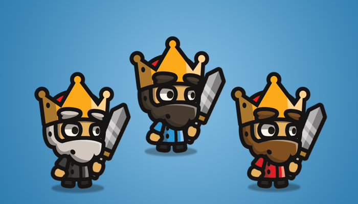 Tiny Style Character King