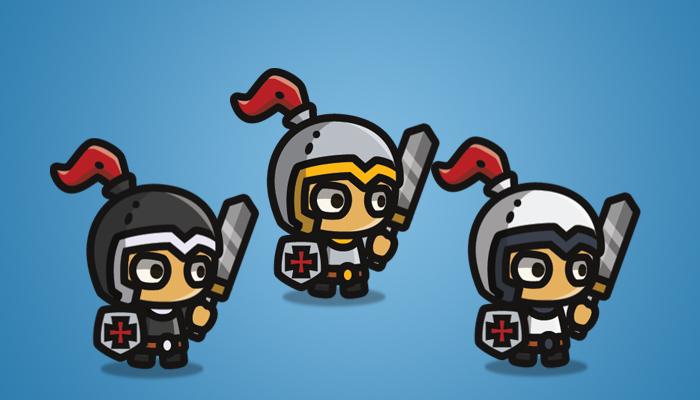 Tiny Style Character Knight