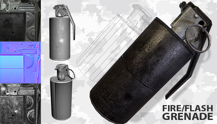 Grenade m14 m18 Flash Fire Smoke