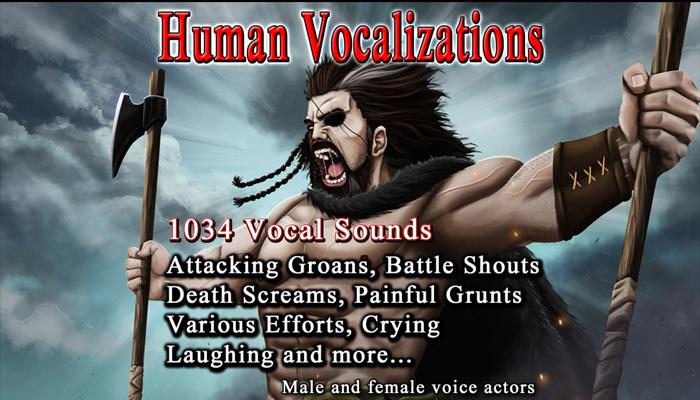 Human Vocalizations