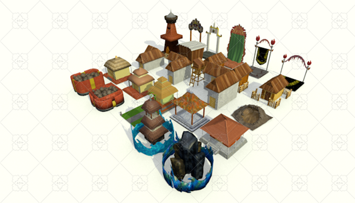 Traditional Wooden Building Pack