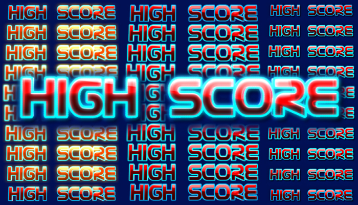 HIGH SCORE animation
