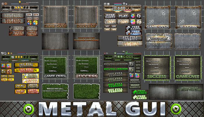 Metal GUI Pack