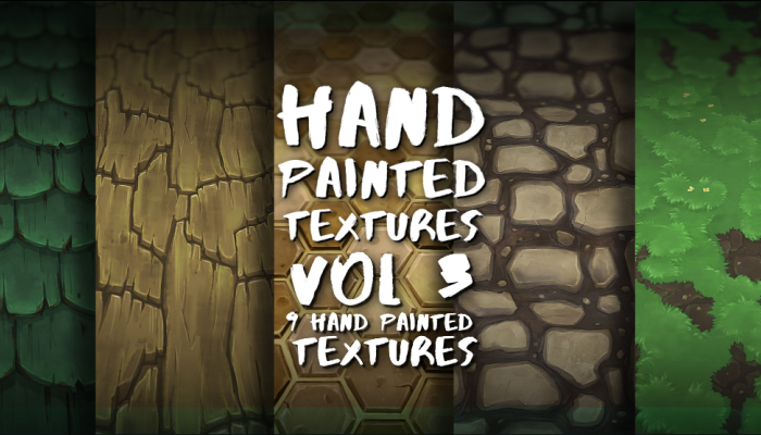 HAND PAINTED TEXTURES 3