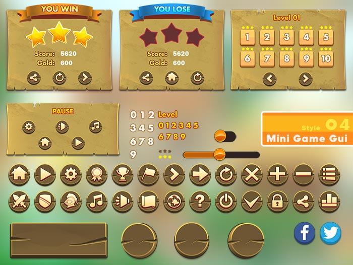 MINI GAME GUI- Style 04