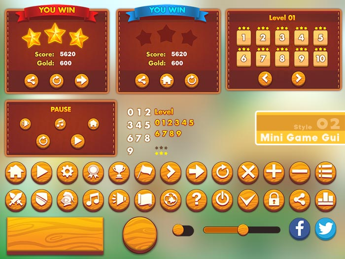 MINI GAME GUI- Style 02