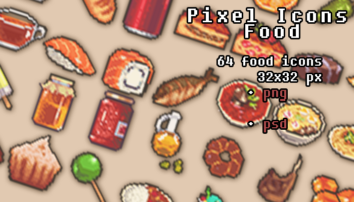 Pixel Food