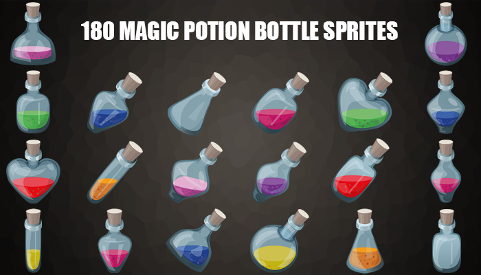 Magic Potion Bottles