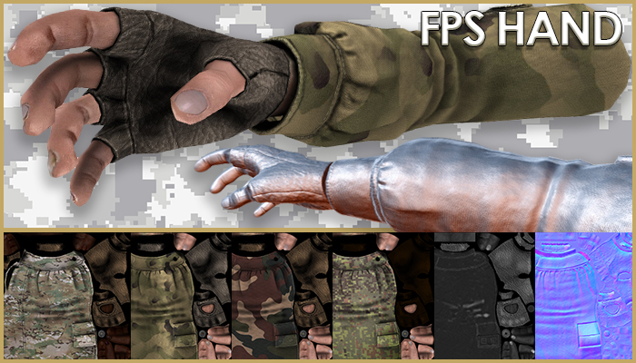 FPS hand